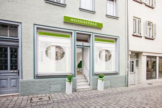 Außenansicht Weissgefühle Center: Ihre Zahnaufhellung in Esslingen
