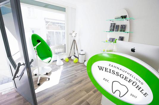 Weissgefühle Zahnaufhhellung in Esslingen Inneneinrichtung